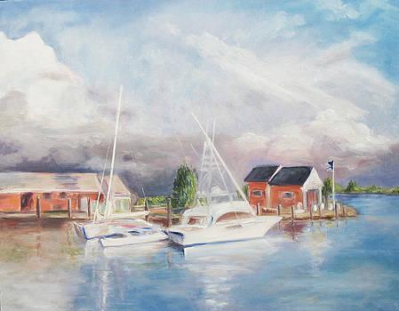 Bahamas Harbor by Barbara Anna Knauf
