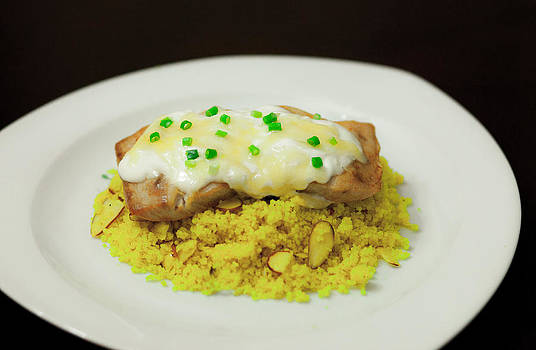 Baked Fish With Sour Cream by Princess Kidwell
