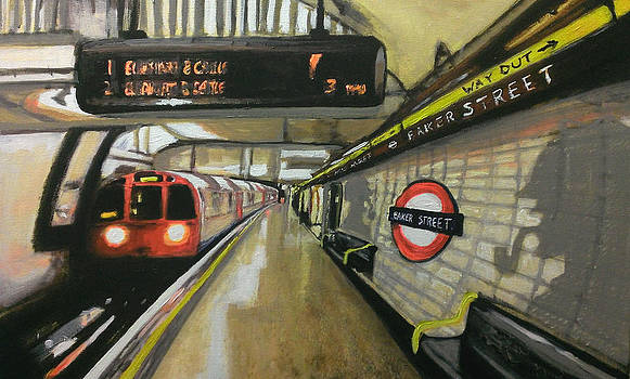 Baker Street Underground Station 2 by Paul Mitchell