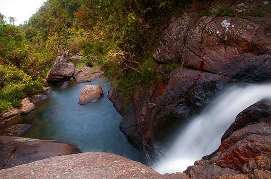 Jenny Rainbow - Bakers Fall VII. Horton Plains National Park. Sri Lanka