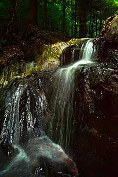 Bakersfield Falls VT by Wendell Ducharme Jr