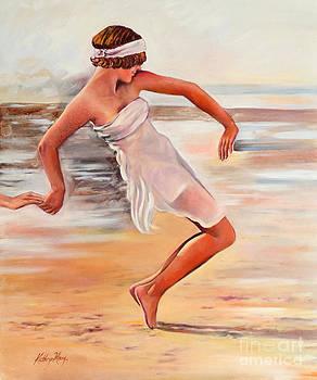 Balance on the Beach by Kathy Harker-Fiander