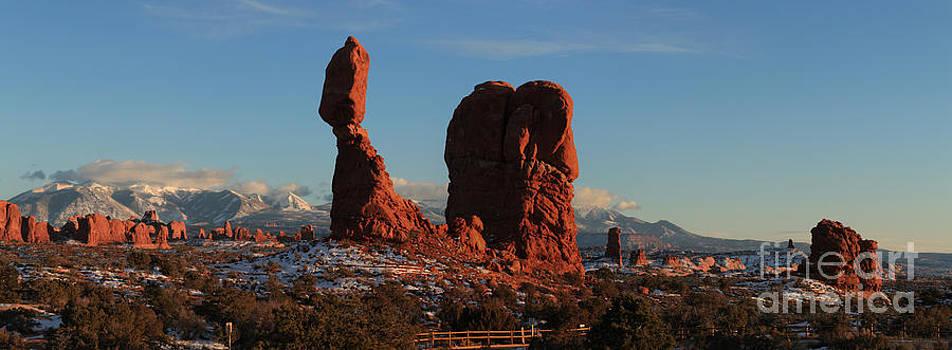 Adam Jewell - Balanced Rock Landscape Panorama