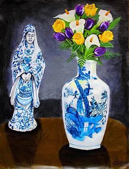 Balancing the blues by Greeshma Manari