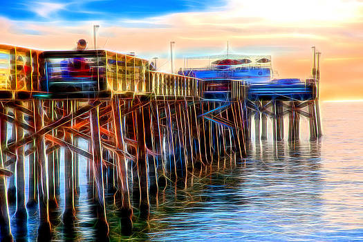 Balboa Pier Glow by Chris Brannen