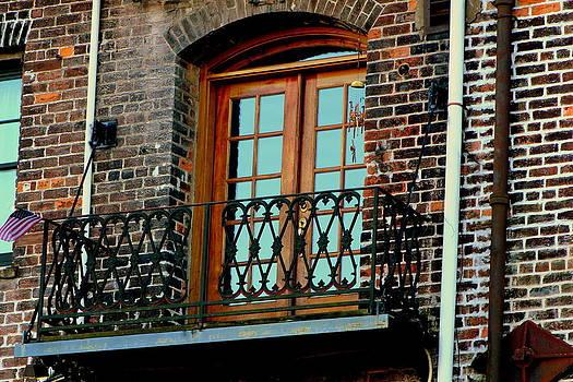 Balcony Doors by Pete Dionne