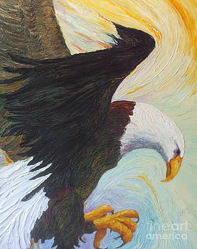 Bald Eagle - A National Treasure by Paris Wyatt Llanso