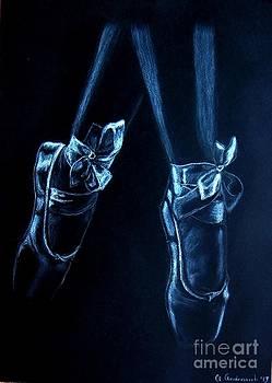 Balerinas by Anna Androsovski