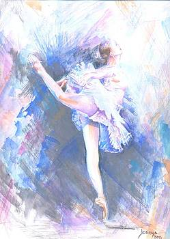 Ballerina-a by Jovica Kostic