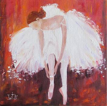 Ballerina After The Dance by Irit Bourla