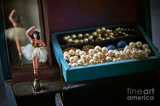 Ballerina and Pearls by Bobbi Feasel