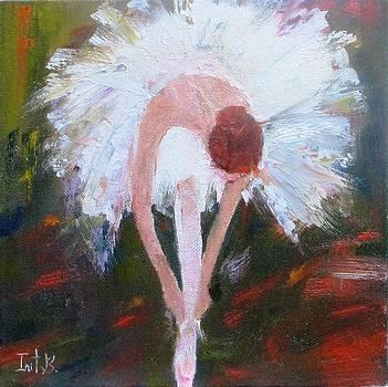 Ballerina Final Touch by Irit Bourla
