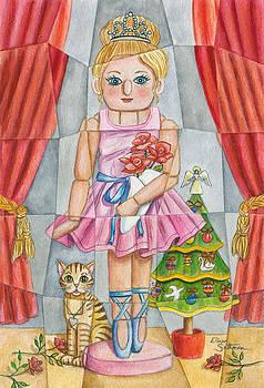 Ballerina Nutcracker by Elinor Sethman