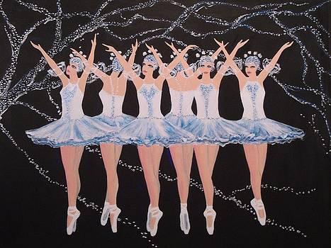 Ballerinas by Jorge Parellada