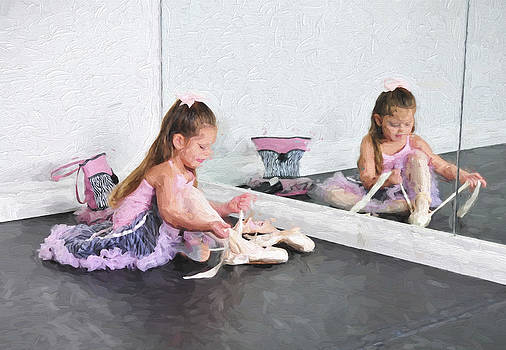 Ballet Class 3 by Tazz Anderson