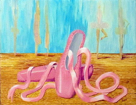 Ballet Slippers by Hilda and Jose Garrancho