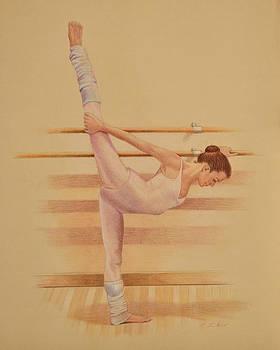 Phyllis Tarlow - Balllet Dancer In Extension