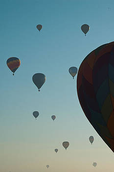 Balloon at Sunrise by Sheri Heckenlaible