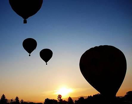 Balloon Sunrise by Greg Bush