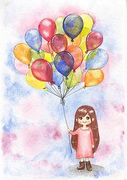 Balloons by Donlapak Chaithavorn