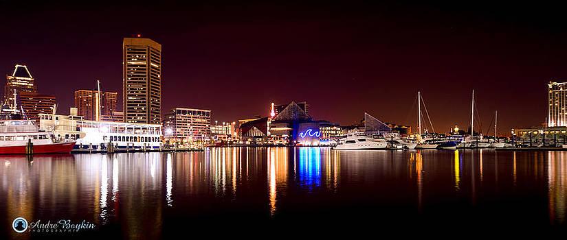 Baltimore Inner Harbor by Andre Boykin