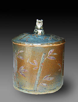 Jeanette K - Bamboo Cookie Jar