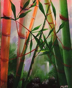 Bamboo Dream by Peggy Mars