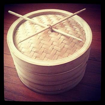 Bamboo Steamer with Natural Chop Sticks - Shadow by Brett Smith