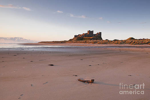 Bamburgh castle by Julian Elliott