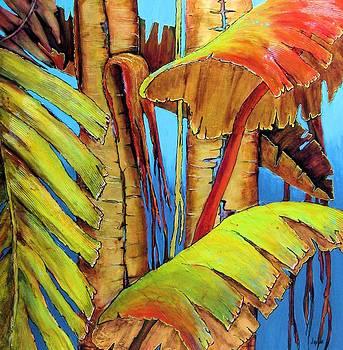 Banana Jungle by JAXINE Cummins