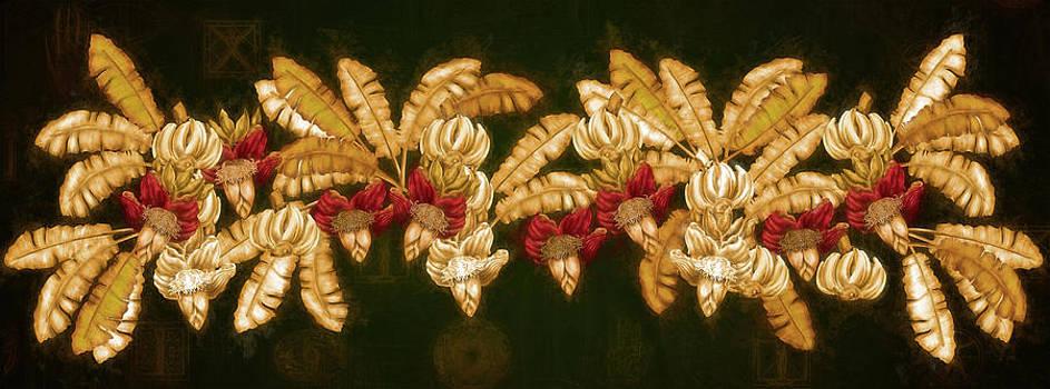 Bananas Heart Blossom by Andrea Ribeiro