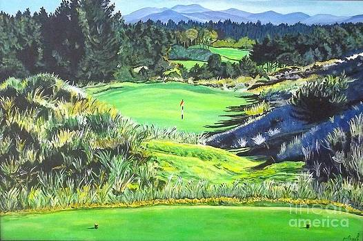Bandon Trails hole two by Frank Giordano