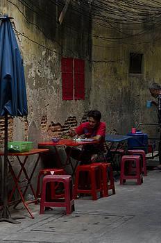 Bangkok Street Cafe by Duane Bigsby