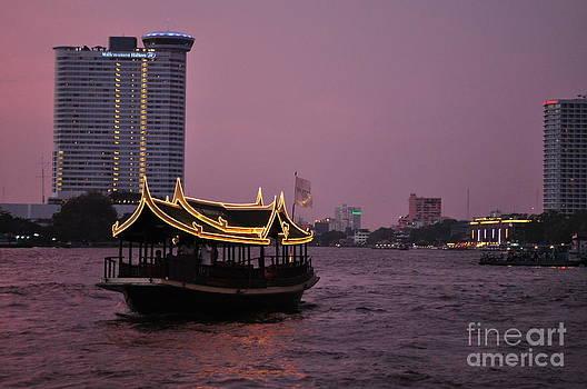 Bangkok Sunset by Carolyn Burns Bass