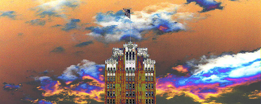 Bank Building by Robert St Clair