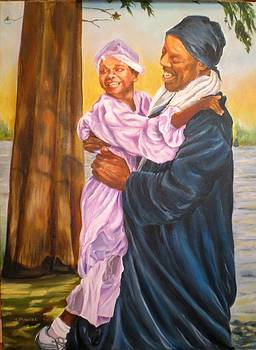 Baptism New Life by Carole Powell