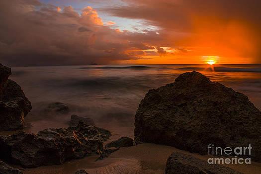 Barbados Sunset by Matt  Trimble