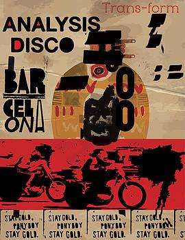 Barcelona Poster by Tolga Ozcelik
