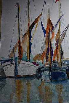 Barges by Betty Mulligan