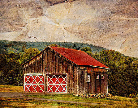 Pamela Phelps - Barn Amid the Mountains