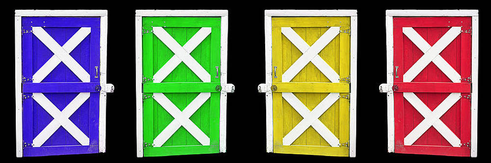 Barn Doors by Gunter Nezhoda