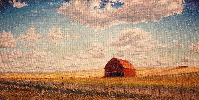 Barn near Moscow by Leonard Heid