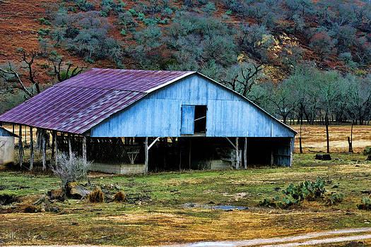 Barn of Blue by Joan Bertucci