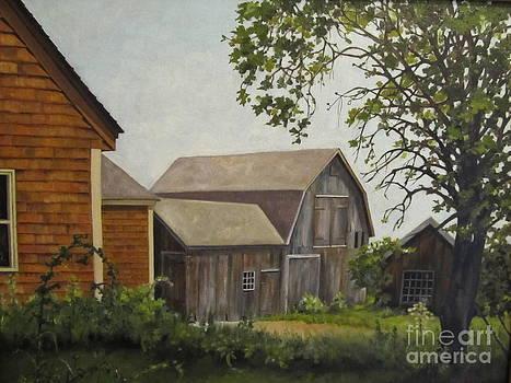 Barn on Ballamahack by Karen Olson