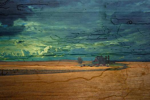 Randall Branham - barn photoart painted on wood