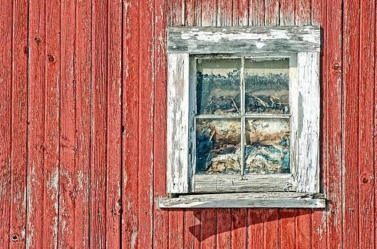 Barn window by Cheryl Cencich