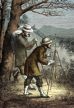 Barometric Observation, 19th Century by Science Source