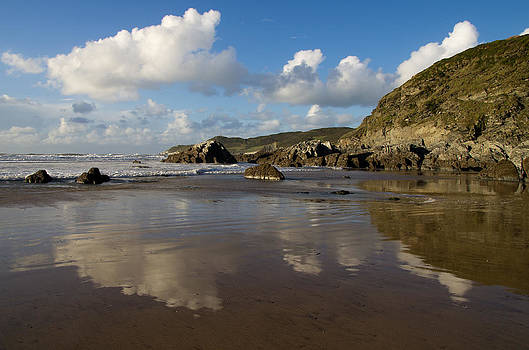 Barricane beach - North Devon by Pete Hemington