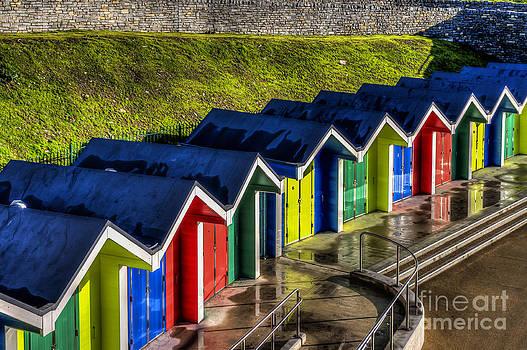 Steve Purnell - Barry Island Beach Huts 1