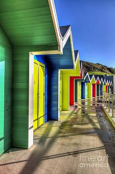 Steve Purnell - Barry Island Beach Huts 5